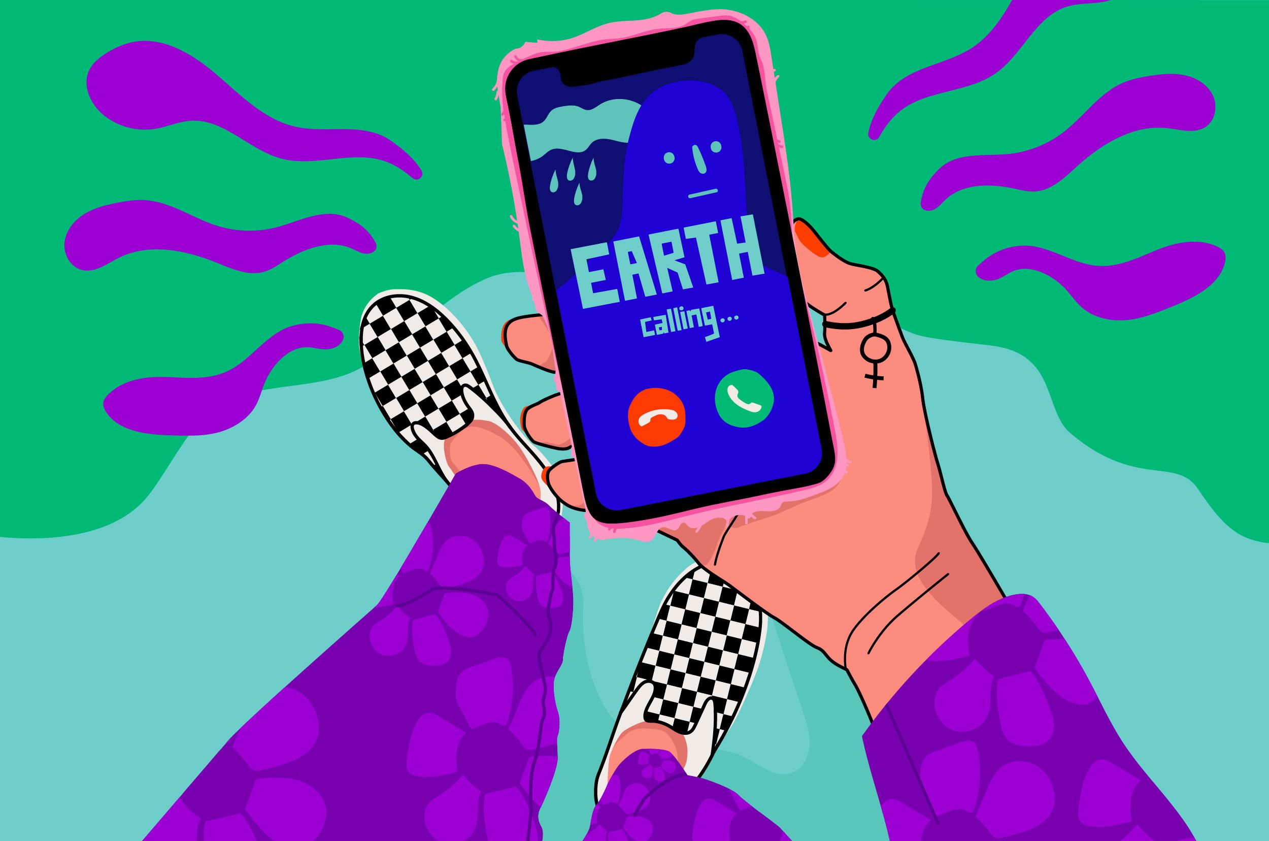 Earth calling